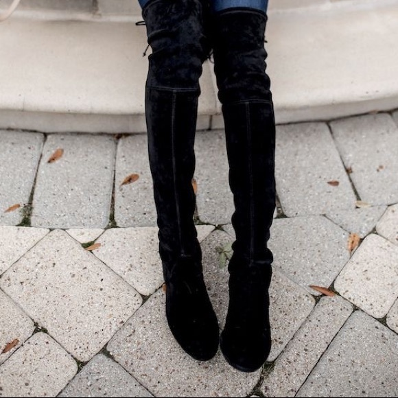 60de20588b0 Marc Fisher Over The Knee Boots velvet